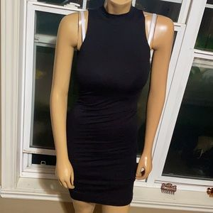 ‼️ Sexy Stretch Collar Fitted Dress